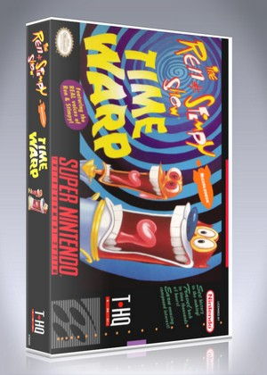 SNES - Ren & Stimpy Show: Time Warp, The (front)