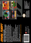 SNES - Rival Turf! (back)