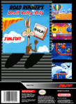 SNES - Road Runner's Death Valley Rally (back)