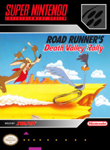 SNES - Road Runner's Death Valley Rally (front)