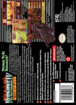 SNES - Romance of the Three Kingdoms IV: Wall of Fire (back)