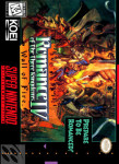SNES - Romance of the Three Kingdoms IV: Wall of Fire (front)