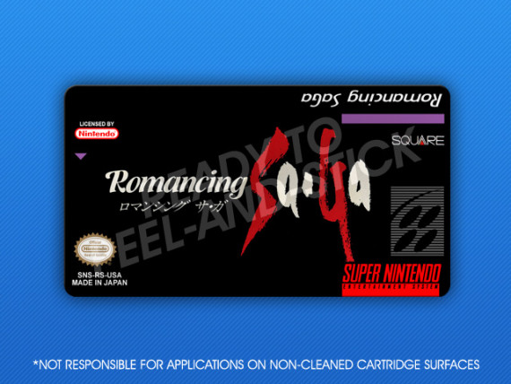 SNES - Romancing SaGa