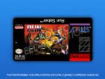 SNES - Run Saber Label