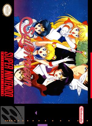 SNES - Sailor Moon (front)