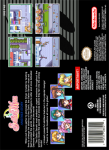 SNES - Sailor Moon: Another Story (back)