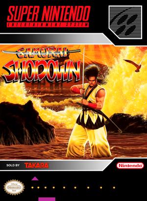 SNES - Samurai Shodown (front)