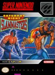 SNES - Saturday Night Slammasters (front)