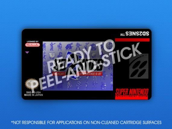 SNES - SD2SNES Label