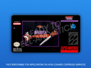 SNES - Shien's Revenge Label