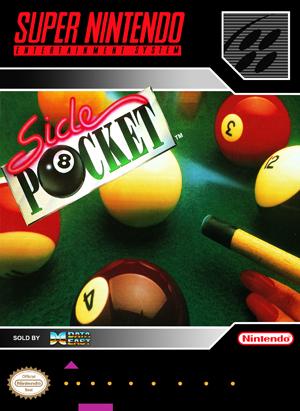 SNES - Side Pocket (front)