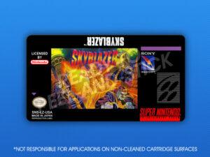 SNES - Skyblazer Label