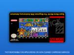 SNES - Super Mario World: The Megaman 29th Anniversary Adventure Label