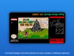 SNES - Super Mario World: The Senate Label