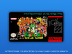 SNES - Super Mario World: Super Mario World: Ultimate Mayhem Label