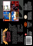 SNES - Snow White in Happily Ever After (back)