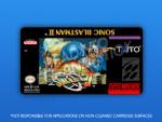 SNES - Sonic Blast Man II Label