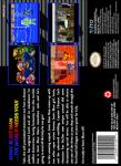 SNES - Sonic Blast Man II (back)