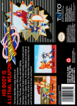 SNES - Sonic Blast Man (back)