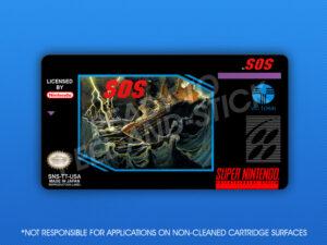SNES - SOS Label