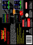 SNES - Space Invaders (back)