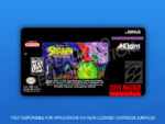 SNES - Spawn: The Video Game Label