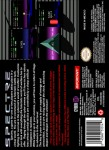 SNES - Spectre (back)