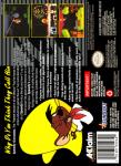 SNES - Speedy Gonzales: Los Gatos Bandidos (back)