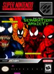 SNES - Venom/Spider-Man: Separation Anxiety (front)