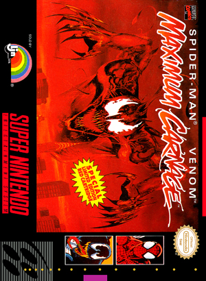 SNES - Spider-Man Venom: Maximum Carnage Custom Game Case ... Maximum Carnage Game