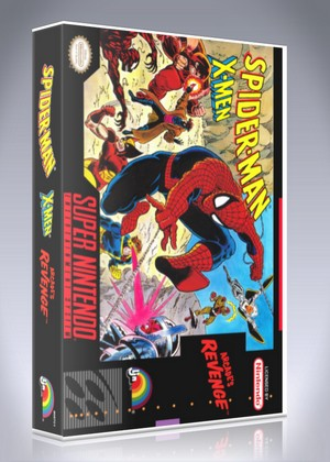 SNES - Spider-Man X-Men: Arcade's Revenge
