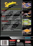 SNES - Spindizzy Worlds (back)