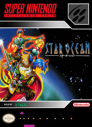 SNES - Star Ocean (front)