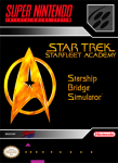 SNES - Star Trek: Starfleet Academy Starship Bridge Simulator (front)