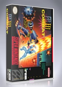 SNES - Street Combat