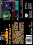 SNES - Street Combat (back)