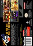 SNES - Street Fighter Alpha 2 (back)