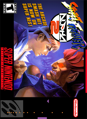 Street Fighter Alpha 2 Retro Game Cases