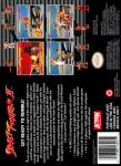 SNES - Street Fighter II (back)