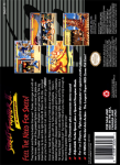 SNES - Street Fighter II Turbo (back)