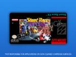 SNES - Stunt Race FX Label