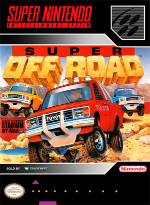 SNES - Super Off Road (front)