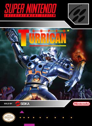 SNES - Super Turrican (front)