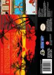 SNES - Super Adventure Island II (back)