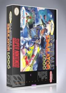 SNES - Super Baseball Simulator 1000