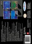 SNES - Super Baseball Simulator 1000 (back)