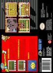 SNES - Super Bomberman 2 (back)