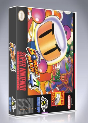 SNES - Super Bomberman 4