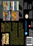 SNES - Super Double Dragon (back)