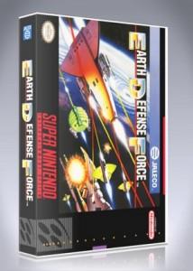 SNES - Super E.D.F.: Earth Defense Force